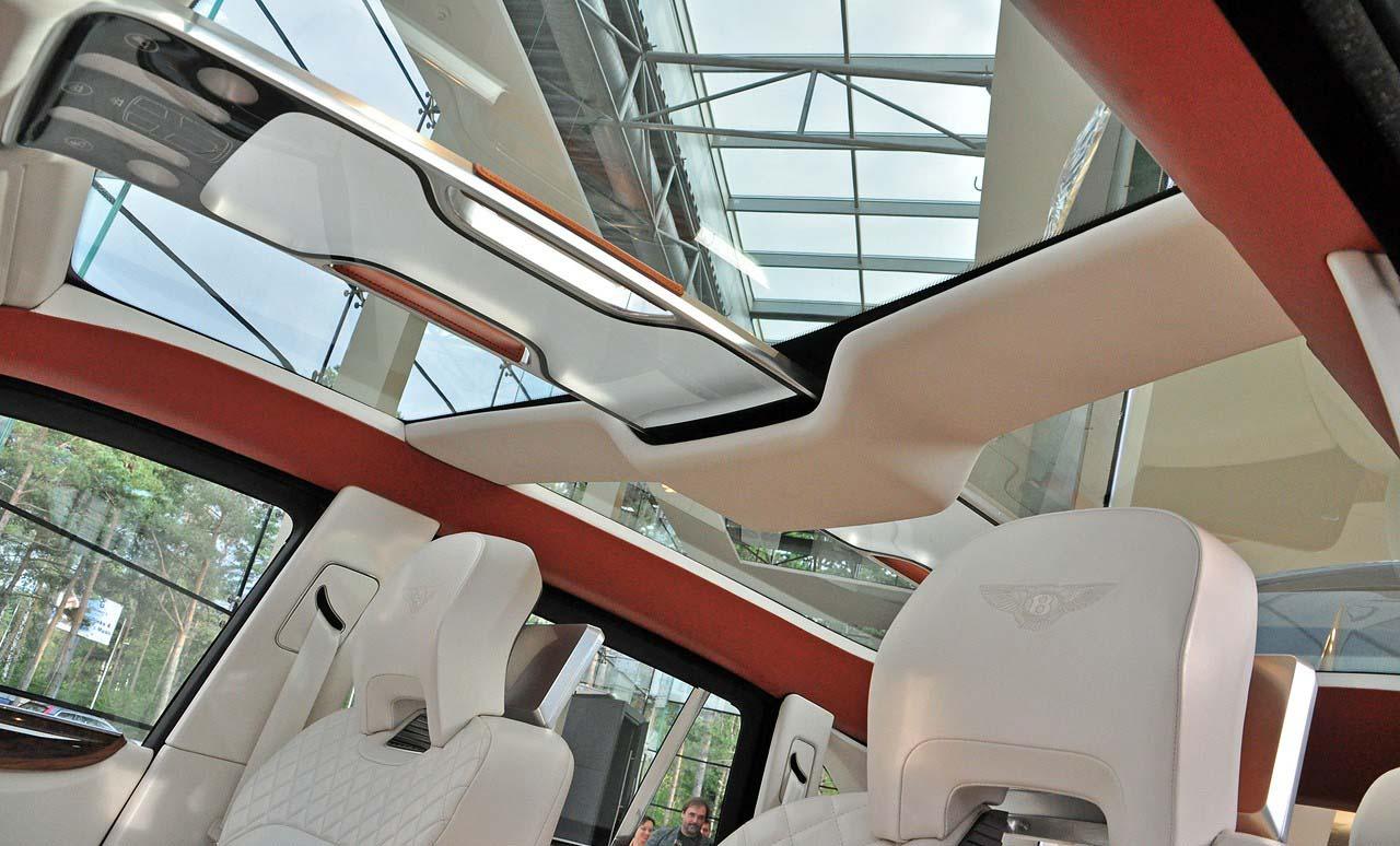 Bentley EXP 9 F бентли внедорожник
