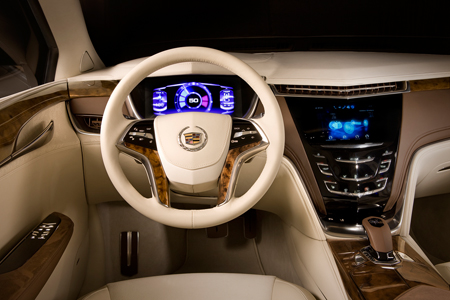 Cadillac XTS Platinum Concept кадиллак хтс автосалон детройт
