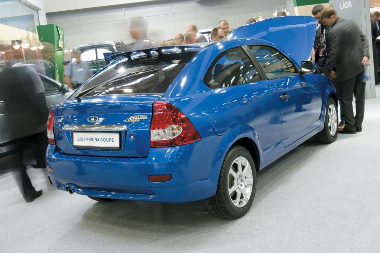 Lada Priora Coupe лада приора купе